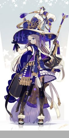 Fantasy Character Design, Character Design Inspiration, Character Concept, Character Art, Girls Characters, Fantasy Characters, Anime Characters, Anime Witch, Witch Art