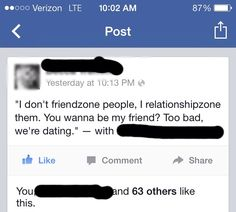 Relationshipzoning. Yes! We've been doing it wrong this whole time Edee