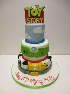 Toy Story cake #cake #cakedesign #disney