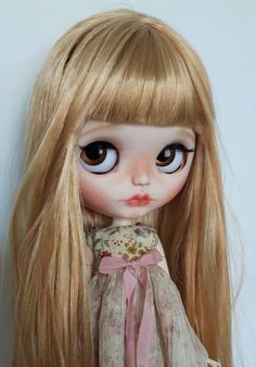 Custom Blythe OOAK art doll 'Orla'