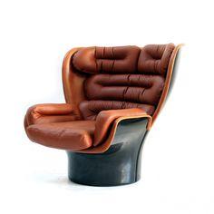 Elda lounge chair by Joe Colombo for Comfort, 1960s