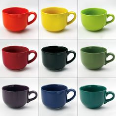 I'd rather have something like this than random coffee mugs from different places.