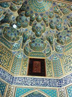 Madrasah Chahar Bagh ( Four Garden School)-Isfahan,Iran