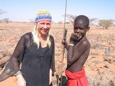 Manuela Kemp in Kenia. Voor Cordaid Mensen in Nood. Regie & fotografie: Dennis Brussaard