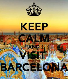 KEEP CALM AND VISIT BARCELONA   Enjoy your stay in #Barcelona with apartments in the city center. staybarcelonaapartments.com Experts in holiday apartments