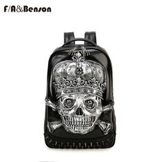 Like and Share if you want this  2017 Newest Stylish Cool Women Men Backpack PU Leather  Skull Rivets Backpack's Female Hot Sale women's bag 3d animal woman bags     Tag a friend who would love this!     FREE Shipping Worldwide     Buy one here---> http://onlineshopping.fashiongarments.biz/products/2017-newest-stylish-cool-women-men-backpack-pu-leather-skull-rivets-backpacks-female-hot-sale-womens-bag-3d-animal-woman-bags/