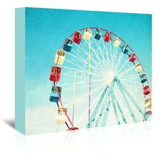 Varick Gallery Jersey Ferris Photographic Print on Wrapped Canvas Size: