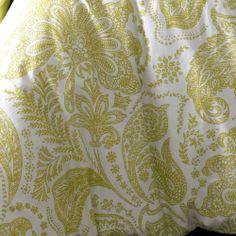 Elizabeth Hurley Persian Duvet Cover, Lime, Double: Amazon.co.uk: Kitchen & Home