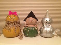 Wizard of Oz Pumpkins by Nora Johnson