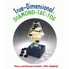 WOW 3-D tic-tac-toe! Great for the whole family exclusively on Idealsmarter.com  #IDS #iDealSmarter