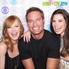 Intelligence - Josh Holloway, Meghan Ory & Marg Helgenberger....gosh Sawyer is as gorgeous as ever!-KS.