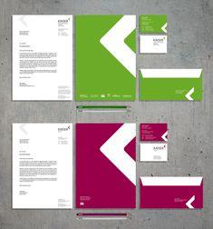 EINDRUCK entwickelte das neue Corporate Design (Logo, Geschäftspapiere, Webseite) für das saarländische Bauunternehmen Kaiser Hochbau.