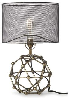 molecule lamp- Science Boy Room