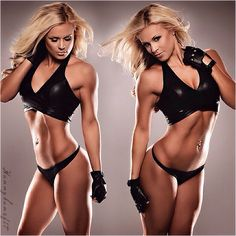 Fitness Model Hunnybunsfit aka Jen Heward's Best 44 Pics! [Female Fitness] – TrimmedandToned