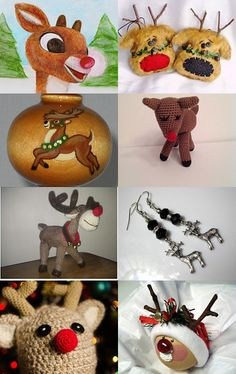 Where's Rudolph? by Laurie Wearp on Etsy--Pinned with TreasuryPin.com