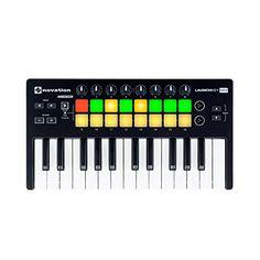 Novation Launchkey Mini 25-Note USB Keyboard Controller for Ableton Live, MK2 Version (LAUNCHKEY-MINI-MK2) Novation