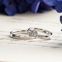 マリッジリング:Allegro due(アレグロドゥーエ) [Platinum 900 marriage wedding ウエディング 結婚指輪 diamond ダイヤモンド]