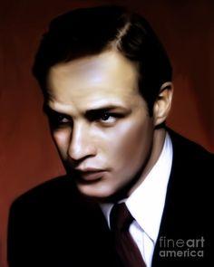 Marlon Brando Tribute by Georgiana Romanovna #Brando