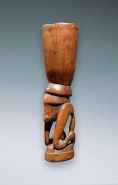 PNG New Guinea Huon Gulf mortar. Ex John Friede, Ex Marc Assayag.