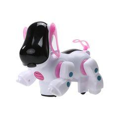 New Lovely Robotic Intelligent Electronic Walking Dog Children Friend Partner robot giocattolo del cane Kids Gift