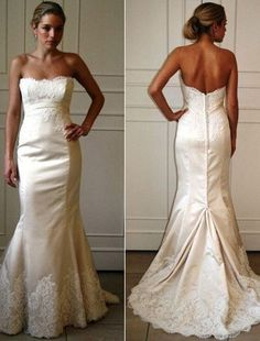 The lace and the buttons down the back are stunning...