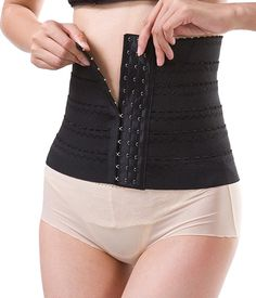 300aac6fe6c FIRSTLIKE Slimming Body Suit Shaper Waist Trainer Girdle Tight Corset  Wedding -- Details can be