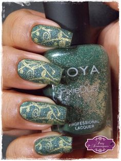 Chita - Zoya e carimbada com MoYou Pro Collection XL-14