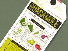 Holy Guacamole designed by Titus Creative. Connect with them on Dribbble; the global community for designers and creative professionals. Holy Guacamole, Guacamole Recipe, Menu Design, Love Design, Rocco's Tacos, Roasted Jalapeno, Alliteration, Grazing Tables, Recipe Cards