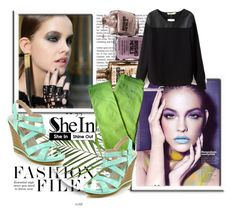 """""""shein"""" by sejla15 ❤ liked on Polyvore featuring Avon, Diesel and Sheinside"""