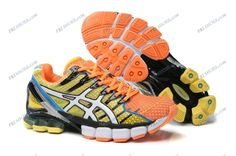 Asics Gel Kinsei 4 Hommes Chrome Jaune Total Crimson argent Blanc Chalcedony Pendant Dragon /half off Asics Gel For Sale for Sale Colorful Sneakers, Colorful Shoes, Running Shoes On Sale, Trail Running Shoes, Mens Running, Buy Shoes, Me Too Shoes, Cheap Shoes, Asics Gel Kinsei