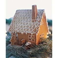 Adorable Swedish Gingerbread House