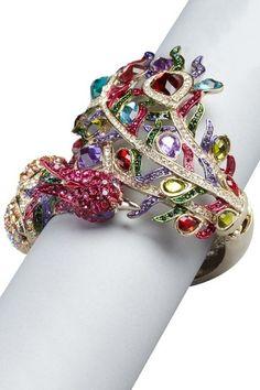 Best Diamond Bracelets : HauteLook | Meghan LA Blowout: Meghan LA Peacock Bracelet