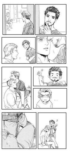 Steve x Tony