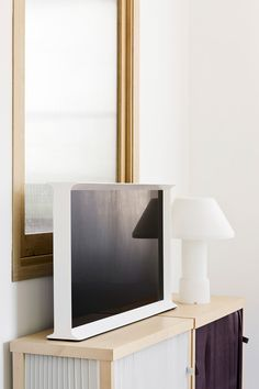 Serif TV - What we were looking for was a solid presence that would sit naturally in any environment, just like a piece of furniture. - Ronan & Erwan Bouroullec