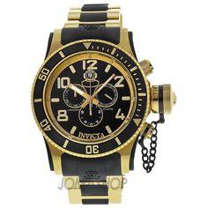 mens+invicta+watches | Invicta Russian Diver Collection Chronograph Mens Watch 6633