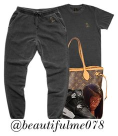 """""""."""" by prvncessbeautifulmee ❤ liked on Polyvore featuring October's Very Own, Louis Vuitton and Retrò"""