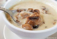 Cream of Mushroom Soup: homemade and vegan Curry Recipes, Veggie Recipes, Whole Food Recipes, Soup Recipes, Vegetarian Recipes, Cooking Recipes, Vegan Soups, Vegan Dishes, Vegan Food