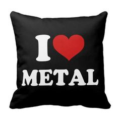 >>>Coupon Code          	I Love Metal Throw Pillows           	I Love Metal Throw Pillows in each seller & make purchase online for cheap. Choose the best price and best promotion as you thing Secure Checkout you can trust Buy bestShopping          	I Love Metal Throw Pillows today easy to Sho...Cleck link More >>> http://www.zazzle.com/i_love_metal_throw_pillows-189563337878394493?rf=238627982471231924&zbar=1&tc=terrest