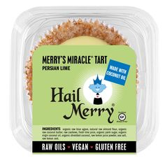 Hail Merry LLC Miracle Tart® Meyer Lemon available at Costco Hail Merry, Lemon Coconut, Raw Almonds, Overnight Shipping, Organic Coconut Oil, Fresh Lime Juice, Allergies, Gluten Free, Dairy Free