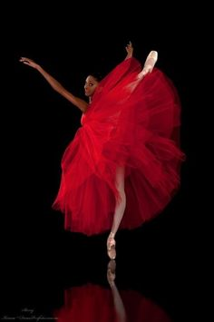 Dancing in red
