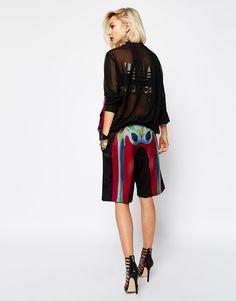 adidas Originals X Rita Ora Shorts In Skeleton