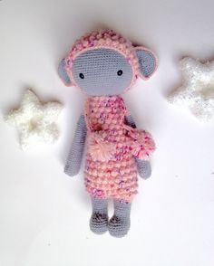 Lupo the lamb made by Anna S. / crochet pattern by lalylala