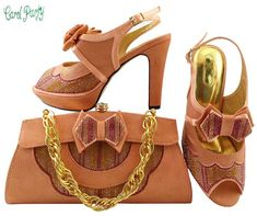 e496082b7714 African Women Shoes and Bag Italian Shoes and Bag Set Decorated with  Rhinestine Wedding Matching Shoe and Bag Price history.