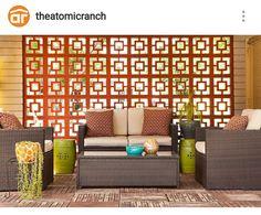 Outdoor Sofa, Outdoor Furniture Sets, Outdoor Decor, Votive Candles, Brick, New Homes, Patio, Contemporary, The Originals