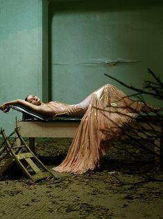 "Jessica Stam in ""Wonder"" by Steven Meisel forVogue Italia,March 2004"