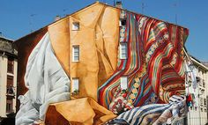 IMVG La ciudad pintada (Mural Itinerary for Vitoria-Gasteiz, The Painted City) Is a tool for public community art for the city of Vitoria-Gasteiz, Basque Country, Spain.