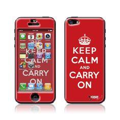 """Keep Calm"" Doming SmartphoneCover - iPhone5 www.cushyskins.com"