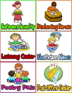Serenade to Second Grade: Literacy Work Stations / Centers FREEBIE