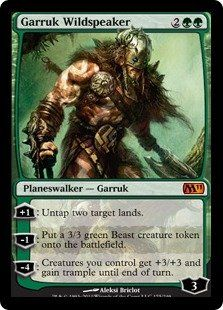 Magic: the Gathering - Garruk Wildspeaker - Magic 2011 by Wizards of the Coast…