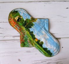 10 Inch Moderate to Heavy Cloth Pad Reusable by FigLeavesPads, $9.75